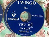 SCHEMI ELETTRICI RENAULT TWINGO 2001-2003 WIRING DIAGRAMS