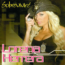 LORENA HERRERA Sobrevivire CD new and sealed como SOY con REMIX NUEVO y sellado