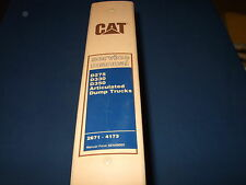 CAT CATERPILLAR DJB D275 D330 D350 DUMP TRUCK SERVICE SHOP REPAIR BOOK MANUAL