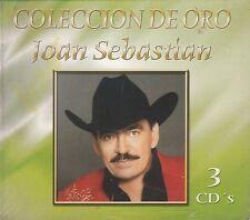 Joan Sebastian Coleccion de Oro 3CD Box set 3CD New Nuevo sealed