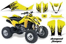 ATV Decal Graphic Kit Wrap For Suzuki LTZ400 Kawasaki KFX400 2003-2008 DFLM K Y