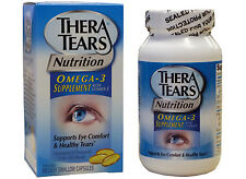 TheraTears Dry Eye Nutrition 90 soft gels Capsules 1200mg Omega 3 Thera Tears
