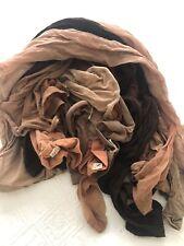 Vintage Bundle Lot of 11 Nylon Panty Hose Various Sizes And Colors