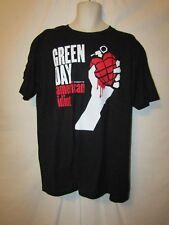mens green day american idiot t-shirt XL nwot black