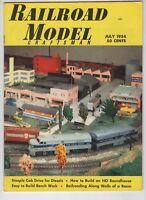 Railroad Model Craftsman July 1954