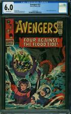 Avengers #27 CGC 6.0 -- 1966 -- Attuma, Beetle, Wasp.  A+ Cover wrap #1990455020