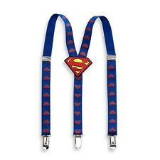 Superman Toddler Boys Blue Suspenders SUE4554ST One Size Fits Most Toddlers