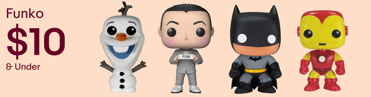 FUNKO Designer and Urban Vinyl Action Figures under $10.00