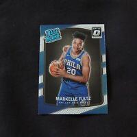 2017 Markelle Fultz Rated Rookie Panini Optic Philadelphia 76ers #200