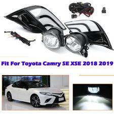 LED DRL Turn Signal Lamp Fog Light Wiring Kit For Toyota Camry SE XSE 2018