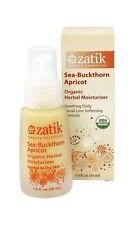 Zatik Organic Sea-Buckthorn Apricot Herbal Moisturizer 1oz Nib Normal ~ Dry Usa