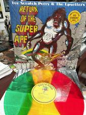 LEE SCRATCH PERRY & The UPSETTERS Return of the Super Ape Rasta Color Vinyl LP