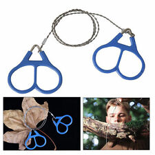 Wire Saw Camping Stainless Steel Emergency Pocket Chain Saw Survival Gear