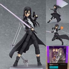 Anime SAO Sword Art Online II Gun Gale GGO Kirito Figma Action Figures Figurine