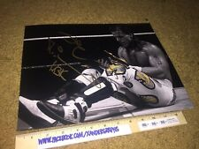 SHAWN MICHAELS WWE SIGNED AUTOGRAPHED METALLIC 11X14 PHOTOGRAPH WRESTLING