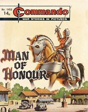 Commando For Action & Adventure Comic Book Magazine #1453 MAN OF HONOUR