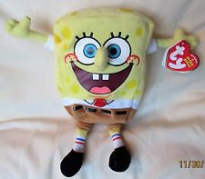 Ty SpongeBob Best Day Ever Beanie Babies - New With MINT TAGS