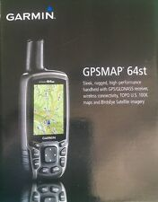 Garmin GPSMAP 64st GPS w/GLONASS Receiver and US 100k TOPO Maps 010-01199-20