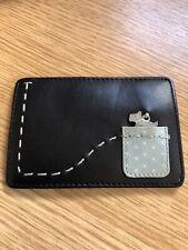 Radley Black Leather Travelcard Holder