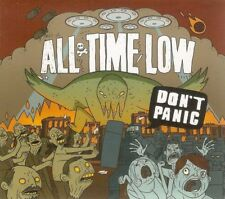 All Time Low - Don't Panic [Digipak - 12 Tracks] Rock Band Music, CD Music, New