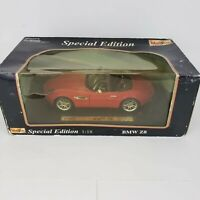 Maisto Special Edition BMW Z8 Hard Top Red Scale 1:18 Die Cast Car