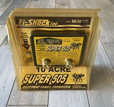 Fi Shock Super 505 Electric Fence Energizer Controller