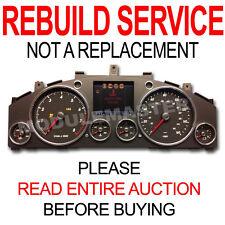 03 04 05 06 07 08 09 10 VW VolksWagen Touareg HiLine Cluster Speedometer REBUILD