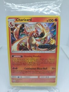 SEALED Pokemon Team Up Pre-Release Pack Charizard Promo SM158 MINT