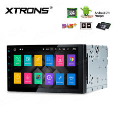 "XTRONS Android 7.1 Double DIN 7"" Car Stereo GPS Sat Nav DAB+ OBD2 WiFi 4G Radio"