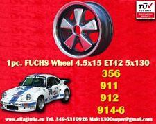 1 cerchio Porsche Fuchs style 4,5x15 RSR look für Porsche 911/912 TÜV Gutachten