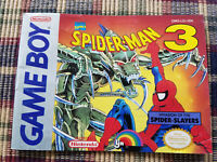 Spider-Man 3 Invasion Spider-Slayers - Authentic - Nintendo Game Boy Manual Only