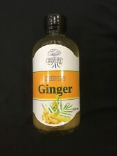 Ginger shrub. 4 oz  3 Ingredient Drink and water Mixer w Apple cider vinegar