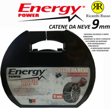CATENE DA NEVE ENERGY POWER E990 OMOLOGATE 9mm 205/55-16