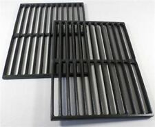 "BBQ Grill Weber Grill 2 Piece Cast Iron Cooking Grates 15"" X 22-3/4"" BCP7522 OEM"