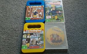 4 x Fireman Sam  dvd - great condition