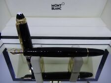 Vintage Montblanc 75th Anniversary LeGrand Fountain Pen 18k Gold Medium Nib