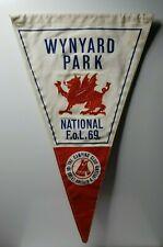 """British camping club National Feast of Lanterns 1969 Wynyard Park pennant 12"""""""