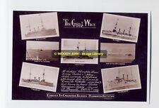 rp5770 - Royal Navy Warships - Canadian Convoy 1914 - photo 6x4