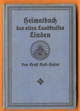 Niedersachsen Hannover Linden Seelze Letter Wennigsen Geschichte Chronik 1915