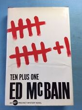 TEN PLUS ONE - FIRST EDITION SIGNED BY ED MCBAIN