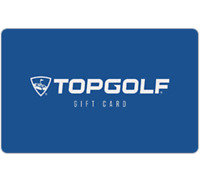 Topgolf Gift Card - $25 $50 $100 - Email delivery