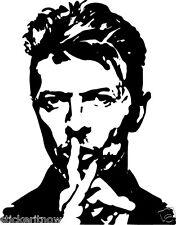 David Bowie Legend Pop Music Vinyl Wall Art Sticker Free Postage Music decor