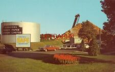 Bowaters Mersey Paper Company, Ltd., Brooklyn, N.S. Canada circa 1965