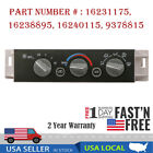 USA Heater A/C Control Panel Switch For 1996-2000 Chevy GMC C1500 K1500 Truck