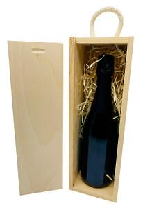 Weinflaschen Holzkiste Geschenkbox Flaschenkiste Geschenk Tragegriff Deckel Deko