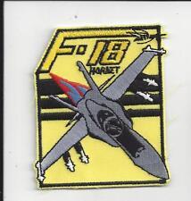 "PATCH NAVY USN F-18 HORNET  3"""