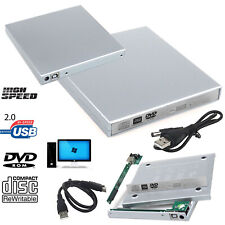 IDE To USB 2.0 PC Laptop CD DVD RW Rom External Caddy Case Drive Enclosure Cover