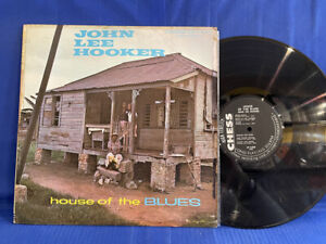 JOHN LEE HOOKER HOUSE BLUES CHESS 1438 DG ORIGINAL USA LP EXC+