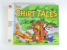 The Shirt Tales Game 1983 Milton Bradley 99% Complete vintage 3-D board game 3D