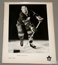 Original Late 50's Andre Pronovost Mtl Canadiens Photo
